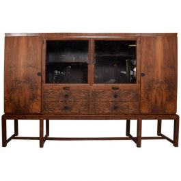 1920s Rosewood Cabinet By Bruno Paul