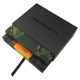 DPM 'Disruptive Pattern Material' Rare Encyclopaedia of Camouflage, Signed 2004