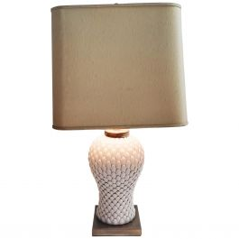Vintage Italian Ceramic Table Lamp, 1970s