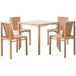 Ruud Jan Kokke Latjes Dining Set. Netherlands, 1984