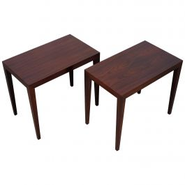 Pair of Severin Hansen Side Tables