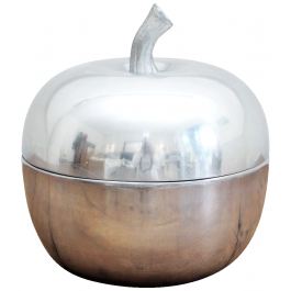 Large 1960's French Apple Ice Bucket 1