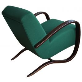 Green H 269 Armchair by Jindrich Halabala