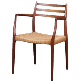 Niels O. Møller armchair in teak, model 62, Denmark, 1962