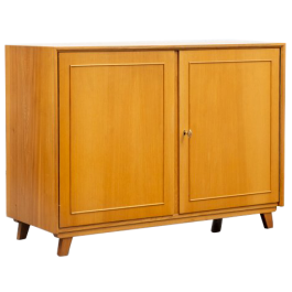 1950s restored cabinet in ashwood