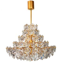 Crystal Chandelier from Kinkeldey, 1970s