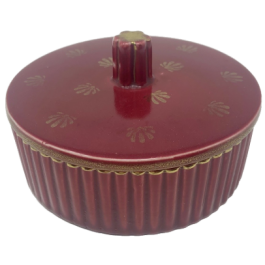 Arthur Percy ceramic trinket box