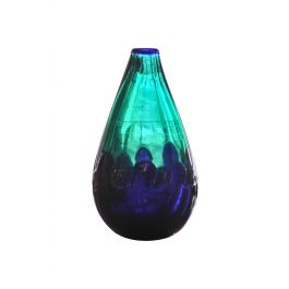 Two Colours Blown Glass Vase by Cozeta