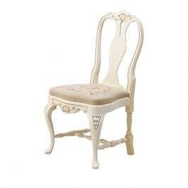 1930s Vintage Swedish Hand Painted Rococo Chair