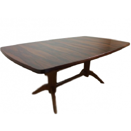 Mid Century Rosewood Extendable Table