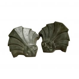 Pair of Art Deco Style Bronze Sconces