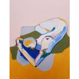 RECLINING NUDE (IN THE SUN)