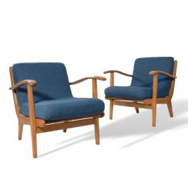 Czech Modernist Ladderback Chairs