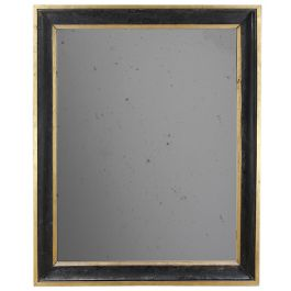 A very large 19th century ebonised and gilt frameA very large mid19th century gilt