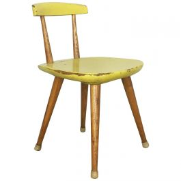 Original Beechwood Children Chair Karla Drabsch for