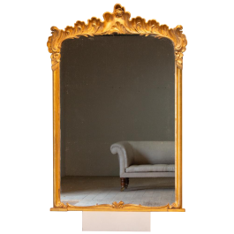 A Beautiful English Rococo Mirror
