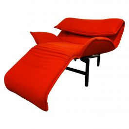 Vintage Veranda Lounge Chair by Vico Magistretti for Cassina, 1980s