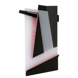 The Colour of the Shadow No.4 in Lacquered Aluminium by Juan Mejia