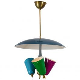 Multicoloured Pendant Lamp