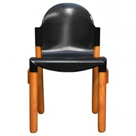 Thonet Chair in Birch and Plastic by Gerd Lange, West-Germany, 1973