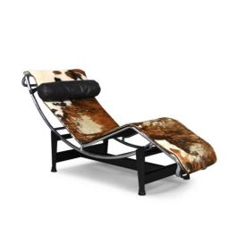 Le Corbusier LC4 Tri-Colore Chaise Longue