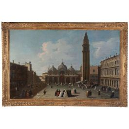 View of St Marks Square, Venice the Master of the Langmatt