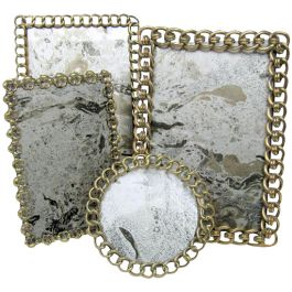 Brass photograph frames