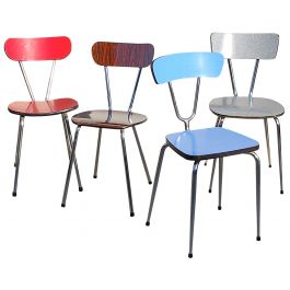4 Formica Kitchen Chairs
