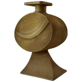 Large Sculptural Bronze Vase by Nuro