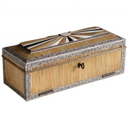 Anglo Indian Porcupine Quill Box