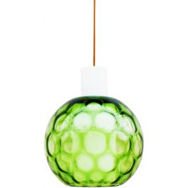 Bubble Glass Globe Pendant Light by Aloys Gangkofner for Peill & Putzer c1960