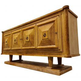 Art Deco Credenza by Gaston Poisson, 1930s