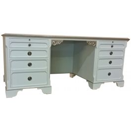 Swedish Gustavian Pedestal Desk