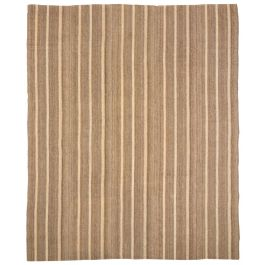 A Large Anatolian Striped Flatweave Rug