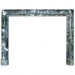 Antique Bolection Marble Fireplace Mantel