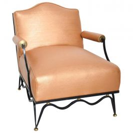 Mexican Modernist Armchairs Attributed to Arturo Pani French Neoclassical, Pair