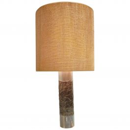 Brutalist Willy Luyckx Table Lamp, 1970s