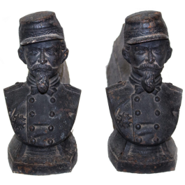 French Soldier Andirons