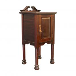 Antique Bedside Cabinet, Arts and Crafts, Maple and Co., Nighstand, circa 1890
