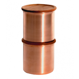 Ayasa Copper Storage Container by Tiipoi - Medium 0.5l