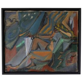 Cubist Abstract Collection - Reclining Nude