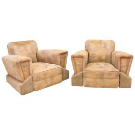 Art Deco Tank Chairs