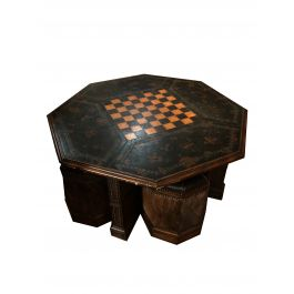 1980s 4 Seater Hermes Games Table