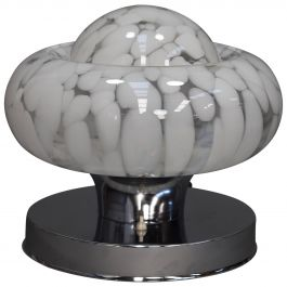 Italian Mazzega Table Lamp Murano Glass, circa 1970