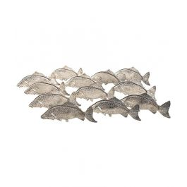 A Unique Set Of 12 Italian 1950S Silver Plated Fish Menu Or Name Card Holders