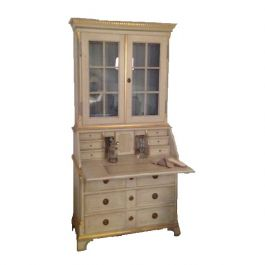 Gustav Writing Desk with Cabinet