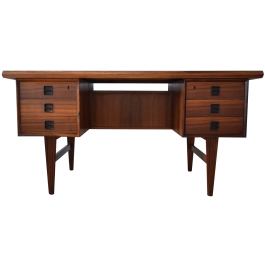 Mid-Century Danish Rosewood Desk by Arne Vodder, 1960s