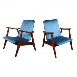 Lounge Chairs by Louis Van Teeffelen for Webe