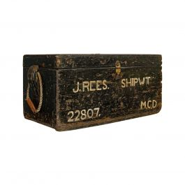 Antique Shipwright's Chest, English, Craftsman's Tool Trunk, Victorian, 1900