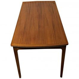 1960s Mahogany Coffee Table by Ole Wanscher for A.J. Iversen